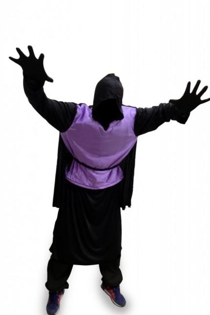 gruseliges herren kost m dark man fasching karneval horror halloween gr xl xxl ebay. Black Bedroom Furniture Sets. Home Design Ideas