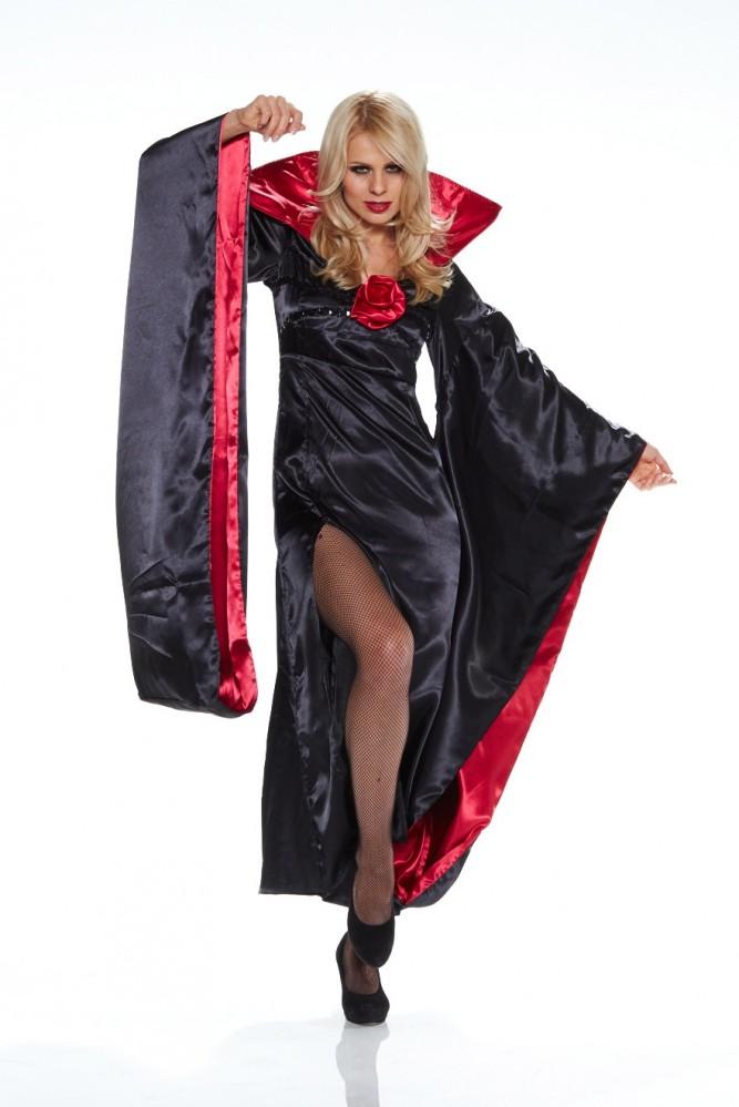 kost m lady dracula halloween karneval vampir twilight gr. Black Bedroom Furniture Sets. Home Design Ideas