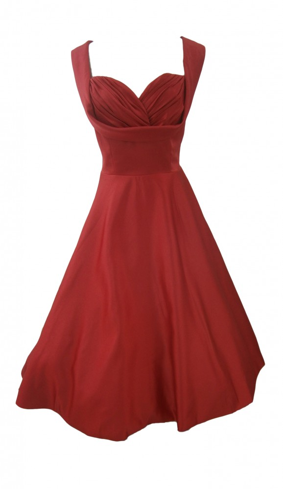50er jahre rockabilly kleid inkl petticoat sonja fashion. Black Bedroom Furniture Sets. Home Design Ideas